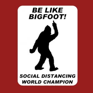 【Social Distancing World Champ】ソーシャルディスタンスの最中になぜかUMAのビッグフッドが話題に