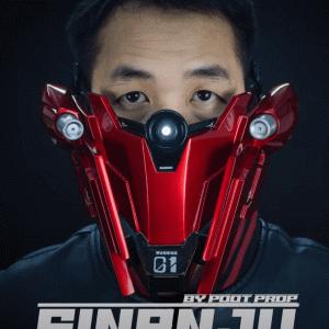 【Poot Padee】ガンダムからインスパイアされたフェイスマスク「SINANJU GUNDAM RANGER」の未来感が凄い