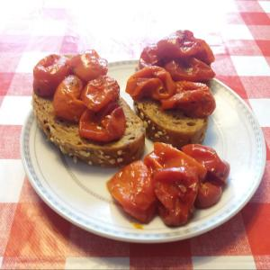 イタリア家庭料理ミニトマトのグリル焼き