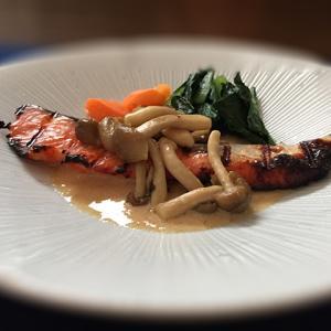 鮭の塩麹グリルde旨味噌ソース【発酵食】いろいろな菌を摂ろう!