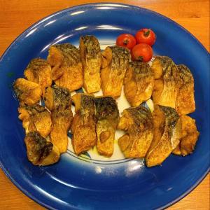 サバのパリパリカレー焼き
