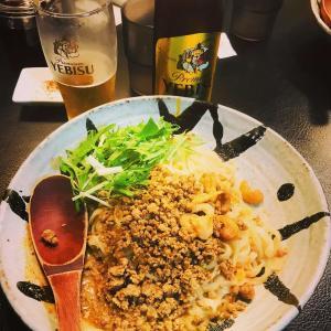 札幌発の担々麺の名店「175°DENO」で担々麺とビールを堪能 編