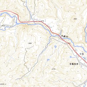定義森林鉄道跡の廃木橋群 事前情報