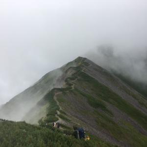 登山のテンショングラフ 登山口は憂鬱
