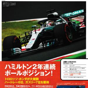 【2018 F1日本GP決勝 観戦記】りゅー。のレースラボ - Vol.19