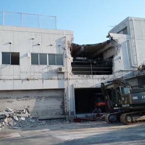 わあああああ!!!トライアル倉敷店解体工事中··········