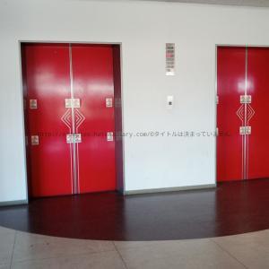 昔の天満屋のエレベーター。なんと健在。
