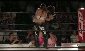 Kyoko Kimura & Hana Kimura vs Dash Chisako & Kaoru