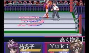 SFC - 美少女摔角手列傳