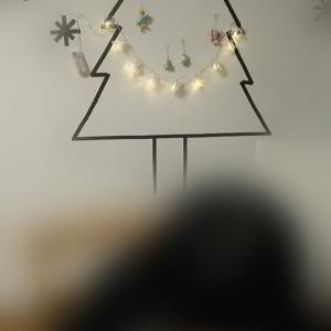 クリスマスツリー&ふく&ごはん
