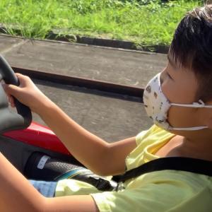 走ちゃん、人生初のドライブ♪