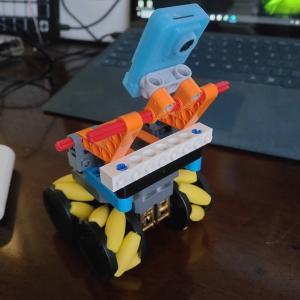 RoverC型Self-Drive Carを作る(その1)