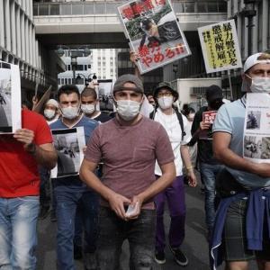 【デモ警官に押さえ込まれけが】渋谷署前で200人が抗議デモ クルド人訴えに共鳴 ・・・!