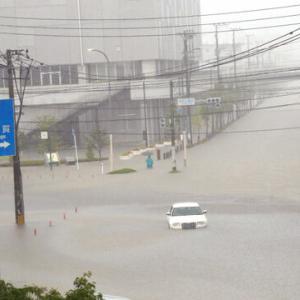【速報】雨災害 福岡県・久留米市27万人余りに避難指示 ・・・!