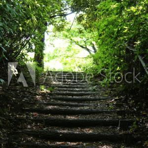 「階段。」