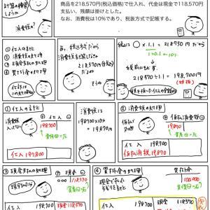 【問題編98】税抜方式の仕訳