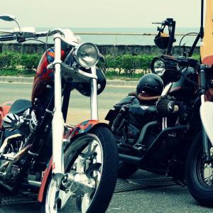 やっぱりアメリカンなバイクだよ