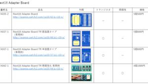 Next18 Adapter Board