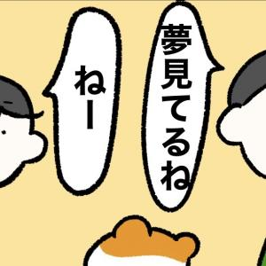 4コマ漫画「ゆめみるハムスケ」