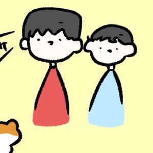 4コマ漫画「みみ」