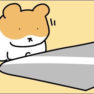 4コマ漫画「ひんやりシート」