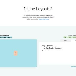 簡単なコードでレイアウトを組む