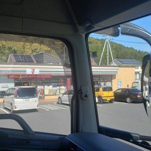 トラック運転手のブログ 朝から工事で渋滞 13日の金曜日は不吉なことが?