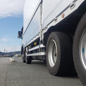 トラック運転手のブログ 元会社の後輩に声かけられました♪