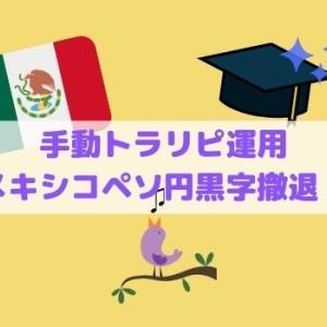 【手動トラリピ】メキシコペソ円から撤退・黒字は何とかキープ!
