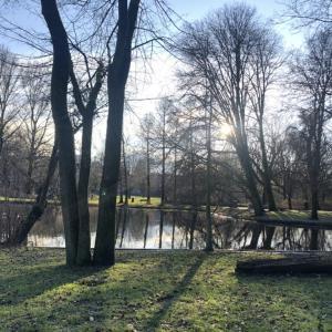 Amsterdam oostエリアでワーホリ仲間と散歩