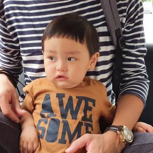 1歳息子が。生まれて初めての散髪に挑戦。
