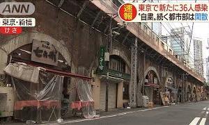 """休業""""継続""""と""""解除""""・・・街の人出に大差(20/05/09)"""