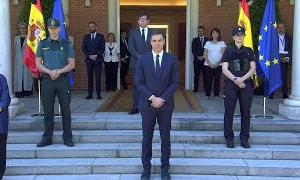 Spanish government marks last day of mourning with minute of silence | AFP