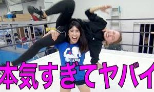アラサーOL、女子プロレスラー才木玲佳ちゃんにしごかれる