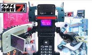【ケータイ捜査官7】着身!ブーストフォン デモリッション & DXフォンブレイバー01(ゼロワン) ヲタファの変形レビュー / Boost Phone Demolition