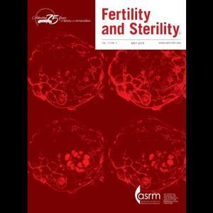 Fertility & Sterility 2019年5月号 講師:国際医療技術研究所/荒木重雄