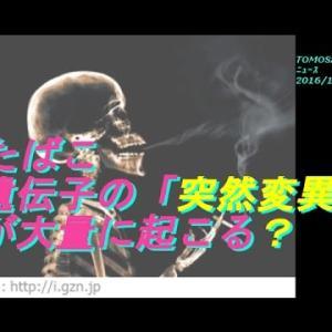 たばこと肺がんとの関係 遺伝子の「突然変異」が大量に起こる?
