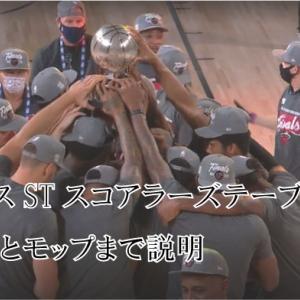 ミニバスSTスコアラーズテーブル解説/各役割とモップまで説明 バスケU12選手と父母に届け