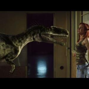 パリピの金髪ボイン美女が恐竜に食い散らかされる映画!《映画紹介》