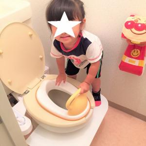DIY!大人も邪魔にならないトイレの踏み台!!