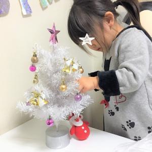 我が家の小さなクリスマスツリー♪♪