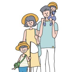 フリーイラスト素材追加「Summer Family」