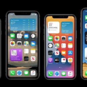 米アップル、「iOS14」発表 ホーム画面の機能を刷新