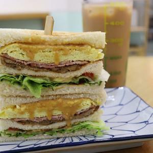 台湾の絶品サンドイッチ