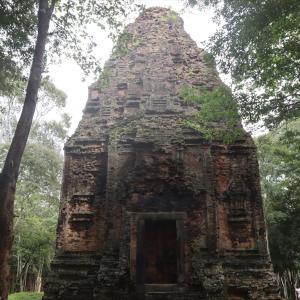 Sambo Prey Kukの3つの遺跡に行ってきました。