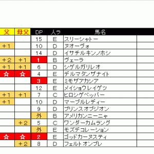 06/06(土)出馬表&本命馬