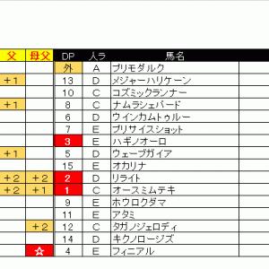 06/14(日)出馬表&本命馬
