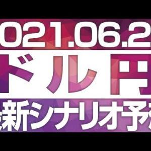 FXドル円最新シナリオ予想&全エントリーシナリオ先出し解説 [2021/6/21  12時30分]