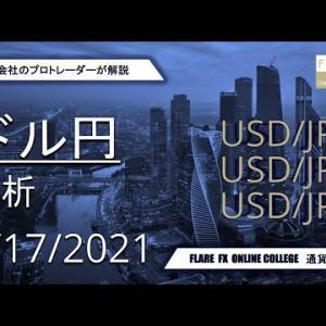 【FXドル円】4時間足のストキャスに素直な相場が続く