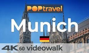 Walking in MUNICH / Germany 🇩🇪- 4K 60fps (UHD)